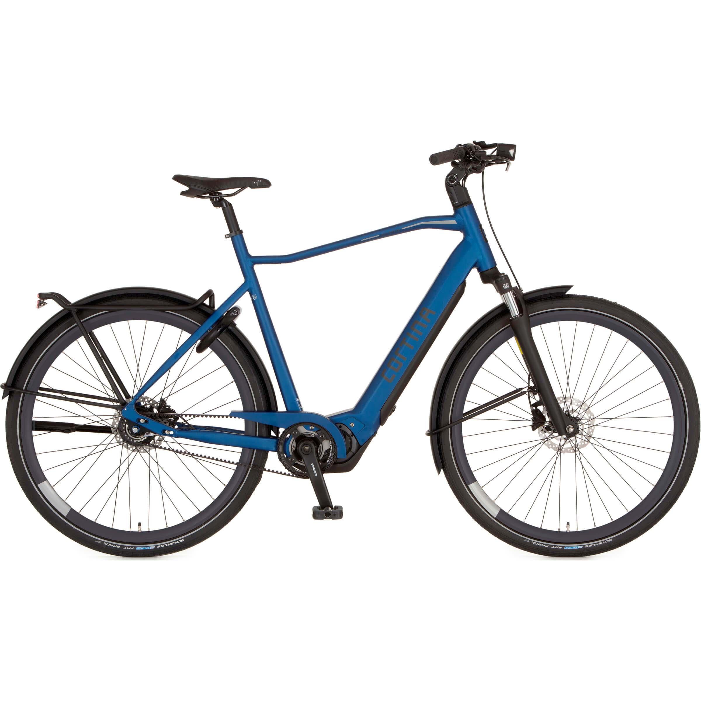 Cortina E-Silento Blue Leasefiets