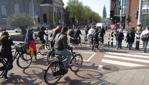 Amsterdam Fietsdrukte